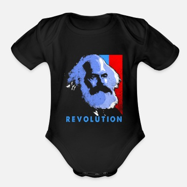 Communism Communism - Organic Short-Sleeved Baby Bodysuit