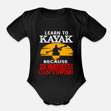 Kayak Kayak - Organic Short-Sleeved Baby Bodysuit