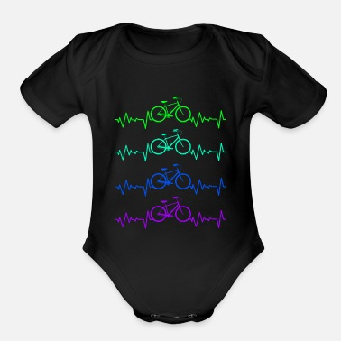 Bicycle Bicycle - Organic Short-Sleeved Baby Bodysuit