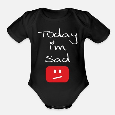 Today im Said - Organic Short-Sleeved Baby Bodysuit