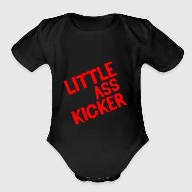 Little Ass Kicker - Organic Short Sleeve Baby Bodysuit
