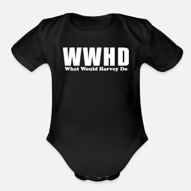 Joking jokes - Organic Short-Sleeved Baby Bodysuit
