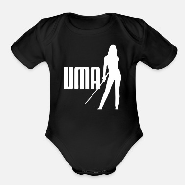 Film KILL BILL UMA TV CULT INSPIRED FILM - Organic Short-Sleeved Baby Bodysuit