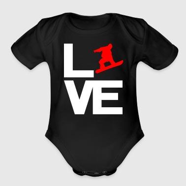 shop snowboarder baby bodysuits online spreadshirt