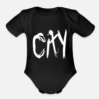 City City - Organic Short Sleeve Baby Bodysuit