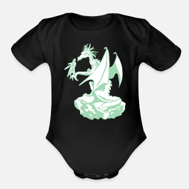 Flight Flight - Organic Short-Sleeved Baby Bodysuit