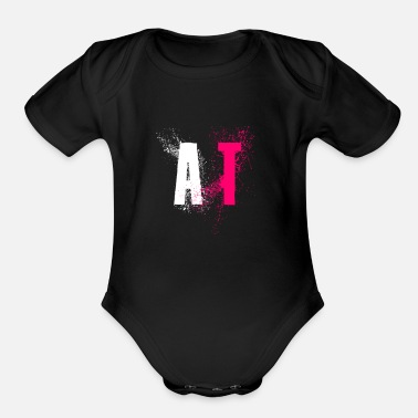 T A T - Organic Short-Sleeved Baby Bodysuit