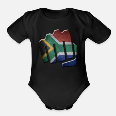 South-africa South Africa - Organic Short Sleeve Baby Bodysuit