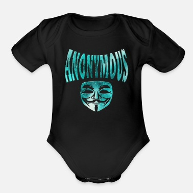 Anonymous Anonymous - Organic Short Sleeve Baby Bodysuit