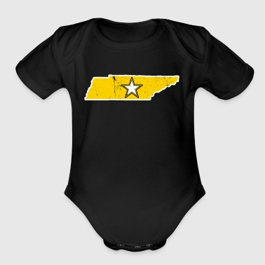 Tennessee Army T Shirt Proud Army Dad Proud Army Mom Shirt - Short Sleeve Baby Bodysuit