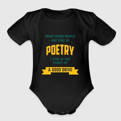 FUNNY GOLF WHAT OTHER PEOPLE FIND IN POETRY - Short Sleeve Baby Bodysuit