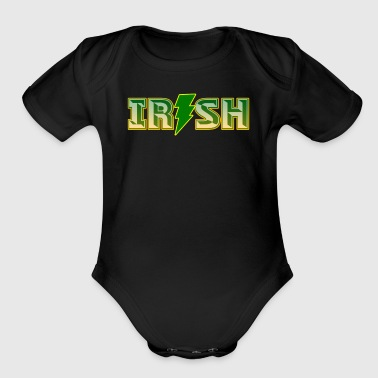 Irish RockStar - Short Sleeve Baby Bodysuit