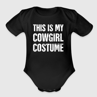 Cowgirl Costume | Halloween Costume Party - Short Sleeve Baby Bodysuit