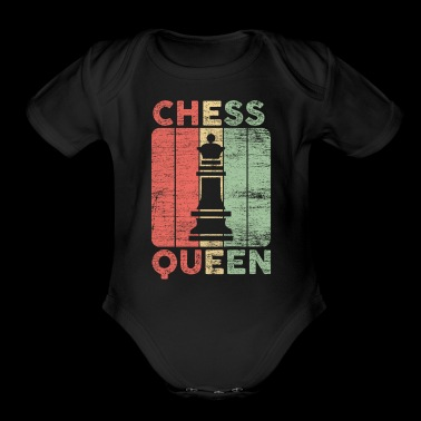 queen chess gift love playing game board field - Short Sleeve Baby Bodysuit