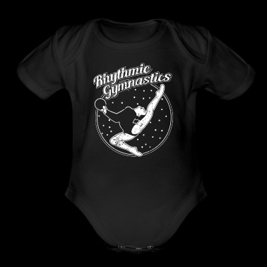 Rhythmic Gymnastics Shirt Rhythmic Gymnastics Ball Shirt - Short Sleeve Baby Bodysuit