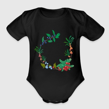berries - Short Sleeve Baby Bodysuit