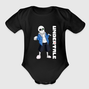 sans teenage - Short Sleeve Baby Bodysuit