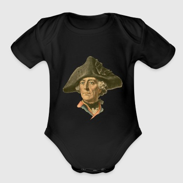 Frederick the Great - Short Sleeve Baby Bodysuit