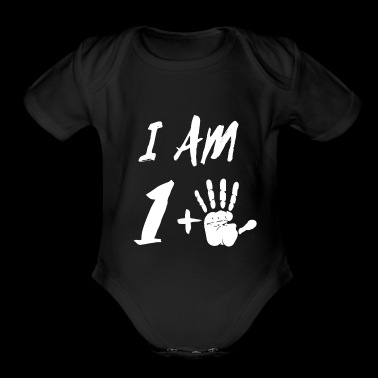 I am 1 Plus 5 Age - Short Sleeve Baby Bodysuit