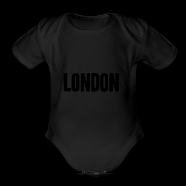 London Shirt England Gift Idea - Short Sleeve Baby Bodysuit