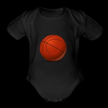 Basketball Tee Shirt Gift for kids, men and women - Short Sleeve Baby Bodysuit