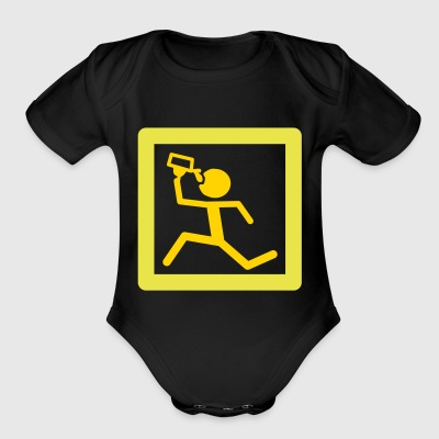 Beer - Short Sleeve Baby Bodysuit