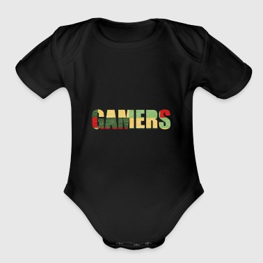 GAMERS - Short Sleeve Baby Bodysuit