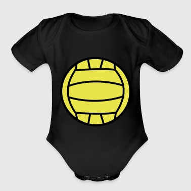 2541614 15552611 volley - Short Sleeve Baby Bodysuit