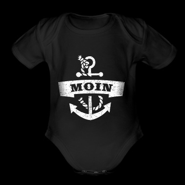 Hamburg North Germany Moin - Short Sleeve Baby Bodysuit