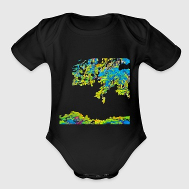 Tripical - Short Sleeve Baby Bodysuit