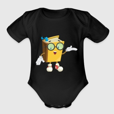 book - Short Sleeve Baby Bodysuit