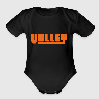 2541614 15081041 volley - Short Sleeve Baby Bodysuit