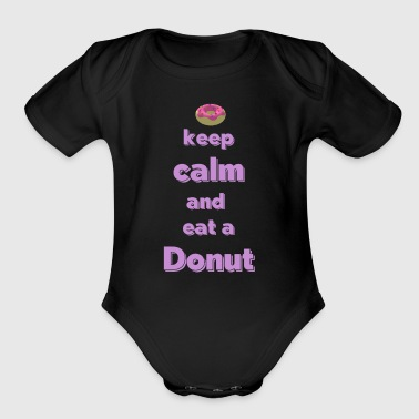 Donut Apparel And Accesories Design - Short Sleeve Baby Bodysuit