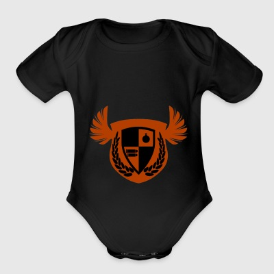 This is a symbol I've made that is very special - Short Sleeve Baby Bodysuit