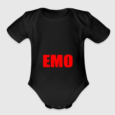 EMO - Short Sleeve Baby Bodysuit