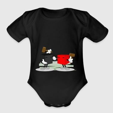 fight - Short Sleeve Baby Bodysuit
