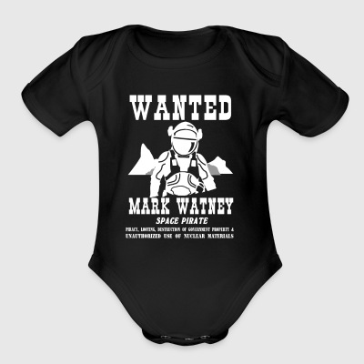 Mark Watney: Space Pirate - The Martian - Short Sleeve Baby Bodysuit