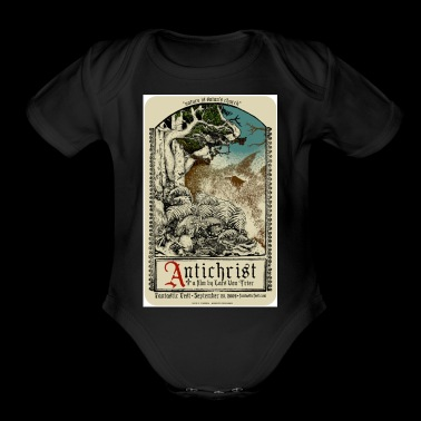 Antichrist Movie Art - Short Sleeve Baby Bodysuit