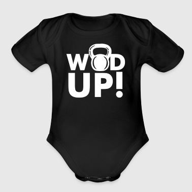 Crossfit Wod Up - Short Sleeve Baby Bodysuit