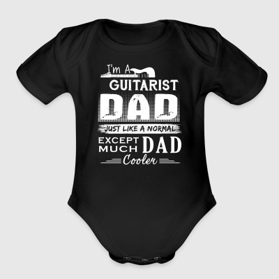 Guitarist Dad Shirt - Short Sleeve Baby Bodysuit