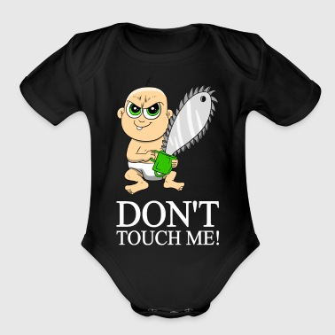 Baby Chainsaw - Organic Short Sleeve Baby Bodysuit
