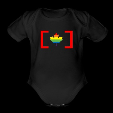 LBGT Maple Leaf - Short Sleeve Baby Bodysuit