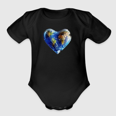 Have a heart - Short Sleeve Baby Bodysuit