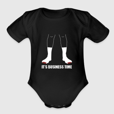 Flight Conchords Business - Short Sleeve Baby Bodysuit