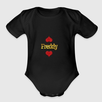 Freddy - Short Sleeve Baby Bodysuit