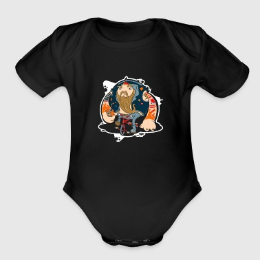 Hells TriAngel - Organic Short Sleeve Baby Bodysuit