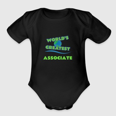 ASSOCIATE - Short Sleeve Baby Bodysuit