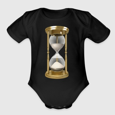 Hourglass - Short Sleeve Baby Bodysuit