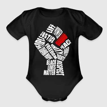 The Love Fist - Short Sleeve Baby Bodysuit
