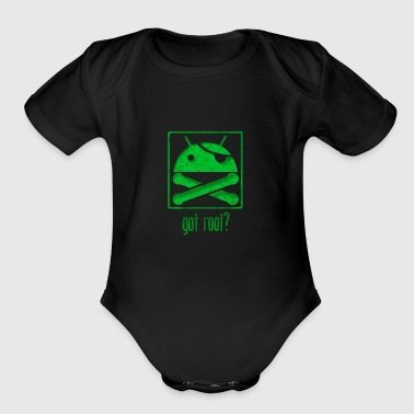 Android Root - Short Sleeve Baby Bodysuit